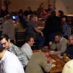 Folks enjoying beers at The Tap Room at Weyerbacher Brewing in Easton, PA!