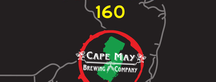 Weyerbacher Brewing & Cape May Brewing Collaboration, Paradise 160