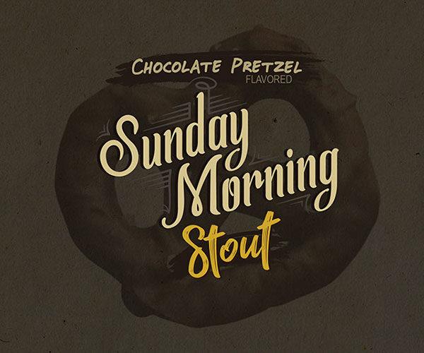Chocolate Pretzel Sunday Morning Stout